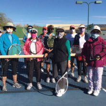 Ladies' drop-in tennis