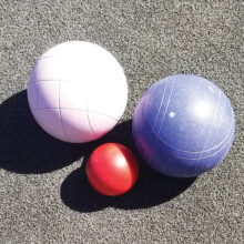 Who do you think is closer? Or maybe, the Easter Bunny left us some bocce eggs?