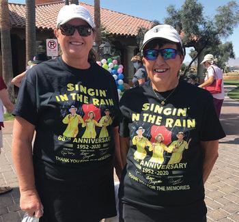 PCL9GA members Dianne Briggs (left) and Pat Kaer
