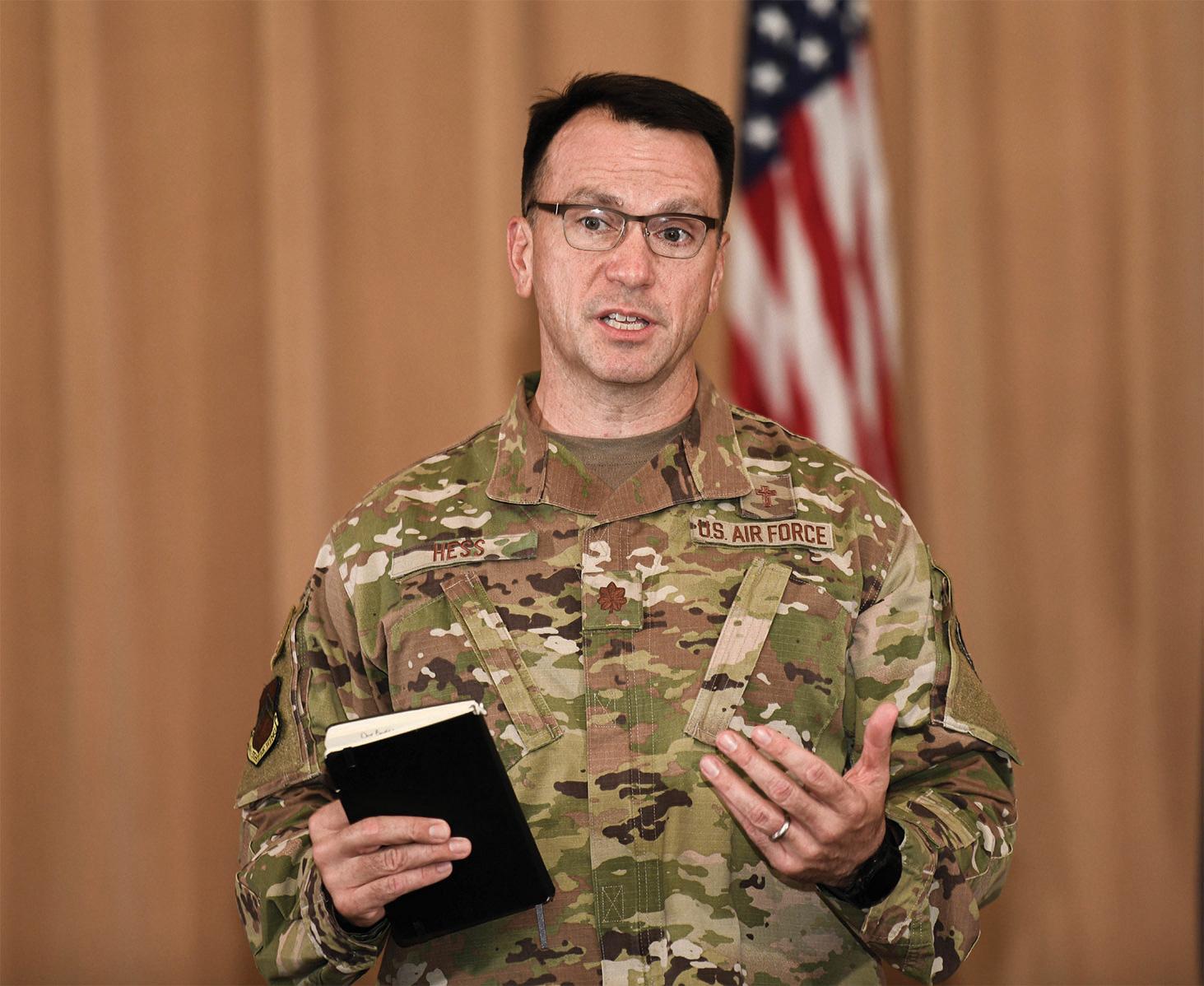 Chaplain Major Douglas O. Hess