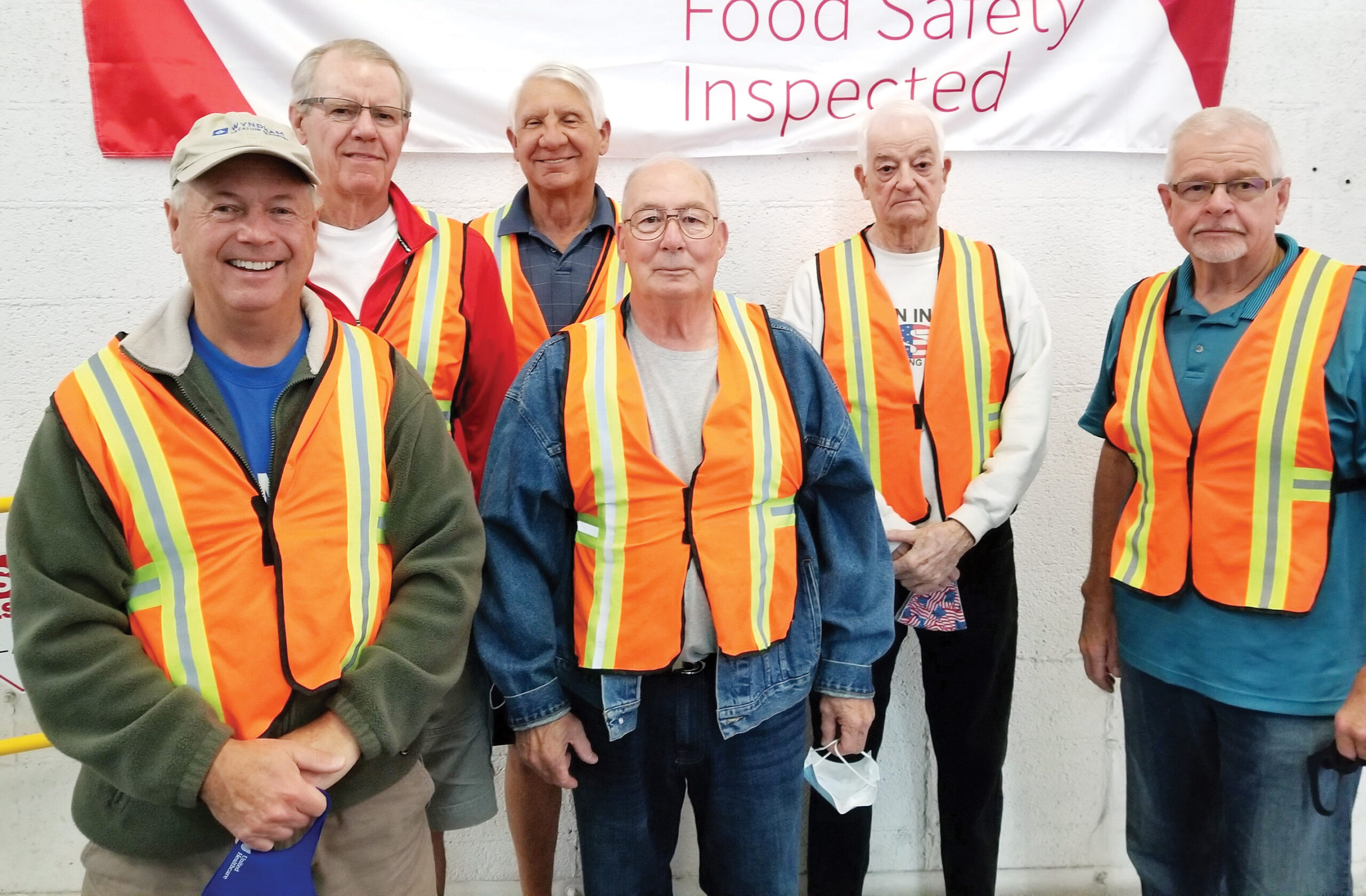 From left to right are: Jim Sykes, Richard Margison, Joe Scarnato, Joe Davis, Fred Cochran, and Neil Smith