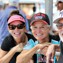 Players from their 40s to their 80s frolic in the sun at Robson Field each season.